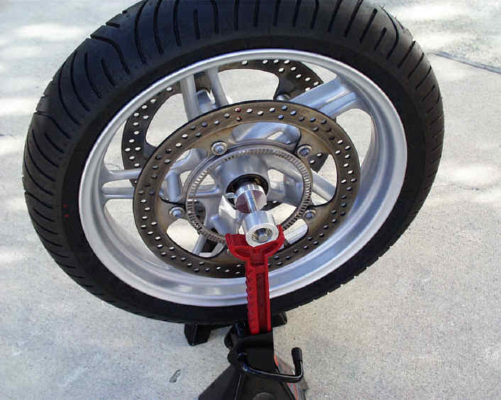 How To Balance A Motorcycle Tire