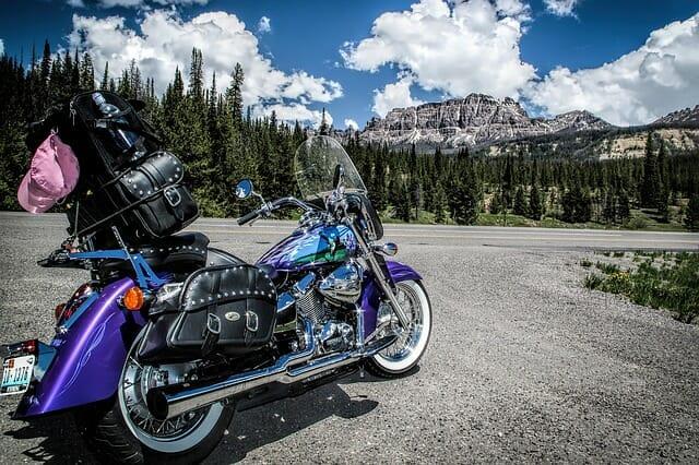 custom motorbike