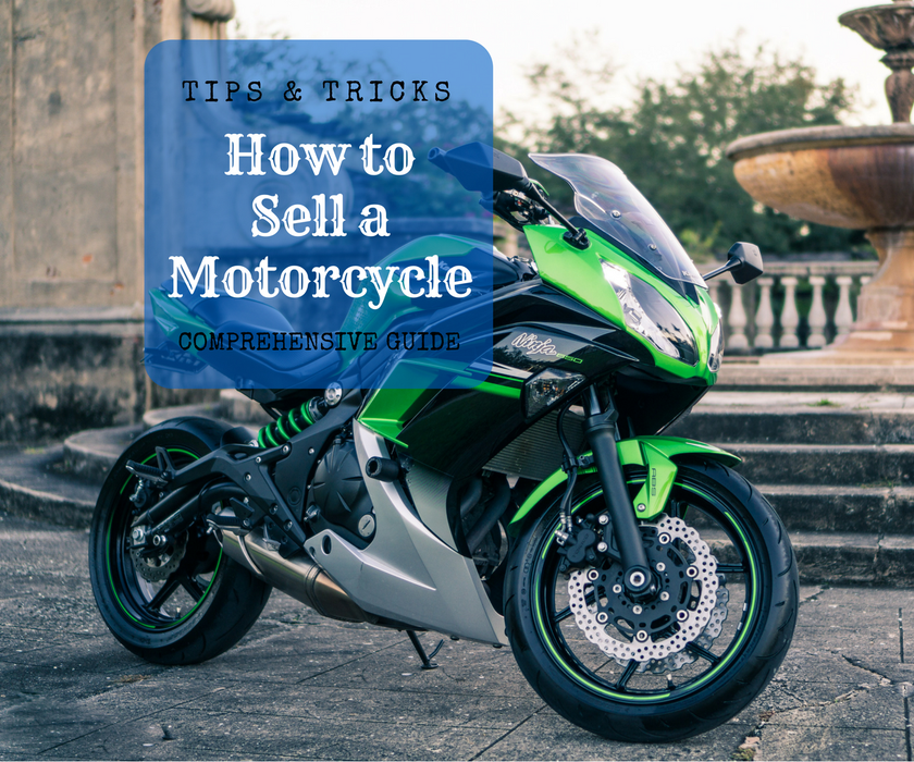 how to sell a motorcycle